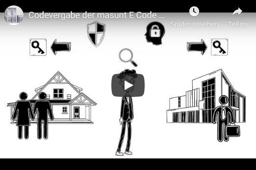 masunt E Code Schlüsselsafes Erklärvideo