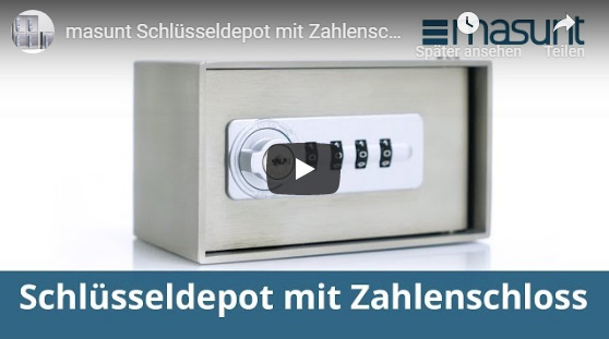 masunt Schlüsseldepot Video