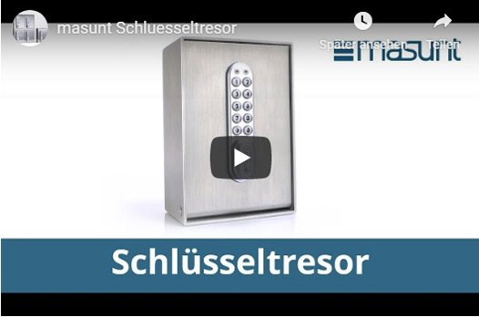 masunt Schlüsselsafes Video