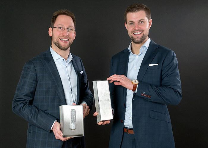 Die masunt Geschäftsführer Markus Schacht und Stephan Untiedt